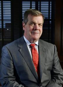 Outgoing Nashville Mayor Karl Dean.
