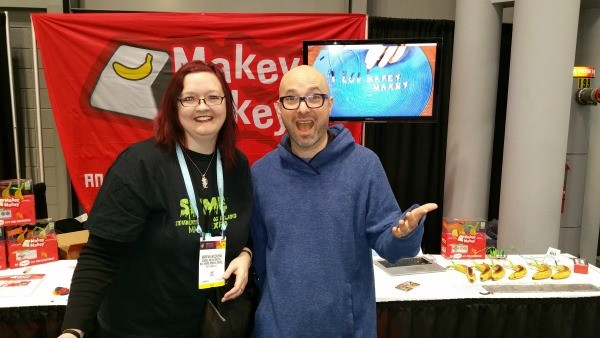 Our reviewer's enthusiasm for MaKey MaKey is clearly contagious.