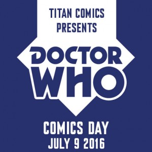 Dr Who Comic Day 2016 Logo