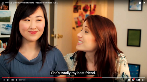 The Lizzie Bennet Diaries vlog is a retelling of Jane Austen's Pride and Prejudice.