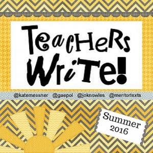 Teachers Write! is Back| Professional Shelf