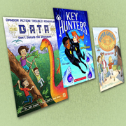Goofy Pets, Daring Detectives, and a Drama Queen| Chapter Books Series Update