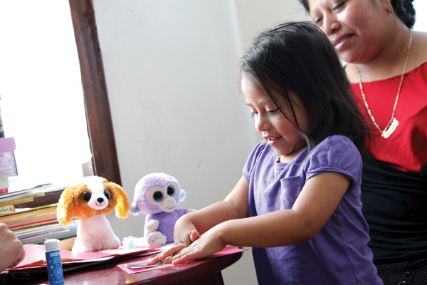 The Providence Talks initative emphasizes the quality of dialogue between parents and children as they build vocabulary.