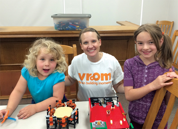 The Bezos Family Foundation's Vroom early learning initiative partners with libraries, including those in the Baker County (OR) district.