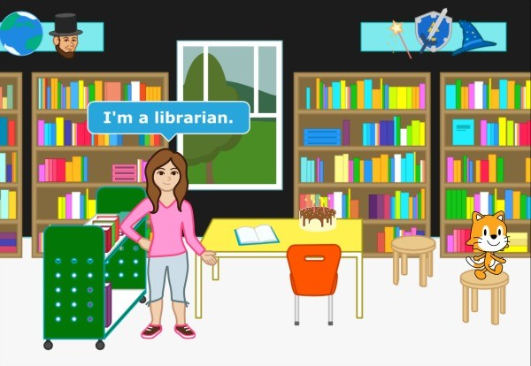 Scratch Jr Im a librarian 600