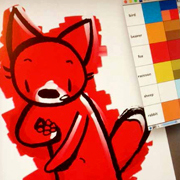 How Draw a Fox, Jeremy Tankard–Style