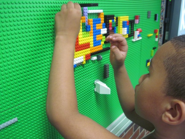 Hey, I Built a LEGO Wall! Here's How.