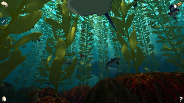 Screen from Ocean Forests (BrightWorld ebooks)