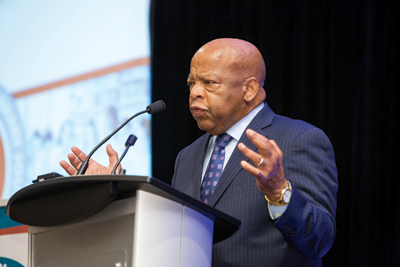 Congressman John Lewis Photo by Audrey Lew