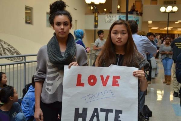 Student protestors.