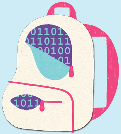1701-Privacy-student-backpack-Color