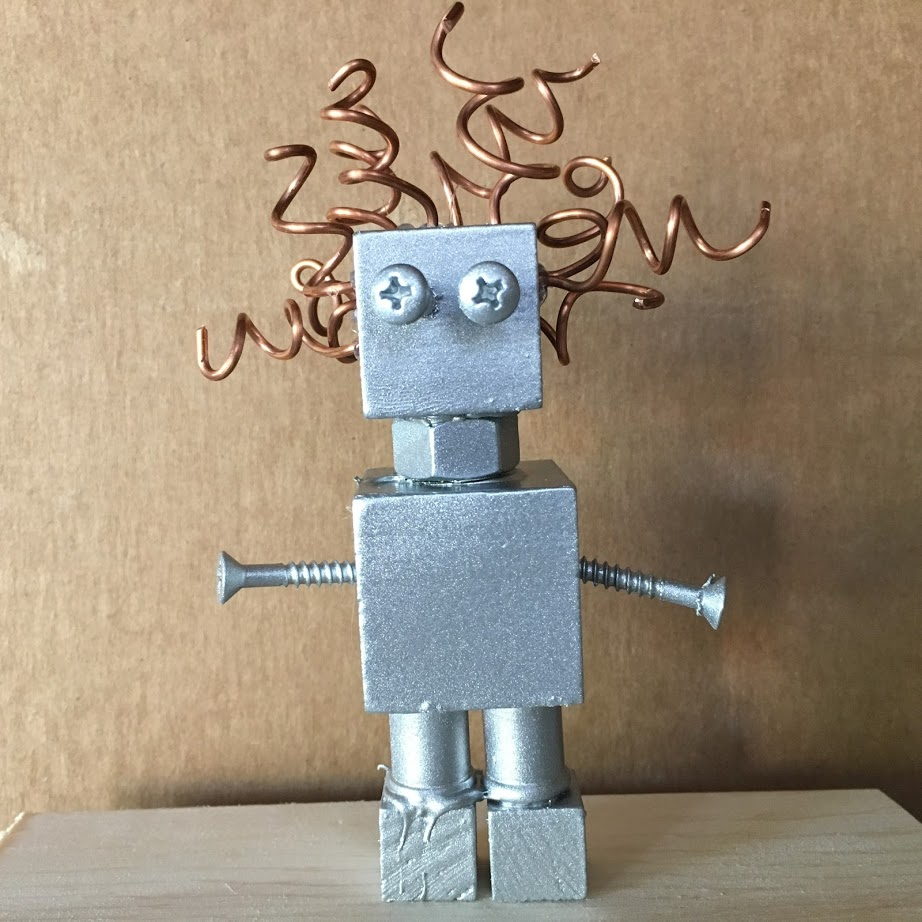 STEAM Project Recipes: Insta-Robots and Sewing Art