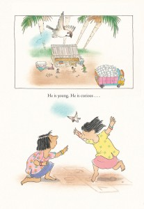VANILLA ICE CREAM. Text copyright © 2014 by Bob Graham. Reproduced by permission of the publisher, Candlewick Press, Somerville, MA on behalf of Walker Books, London.