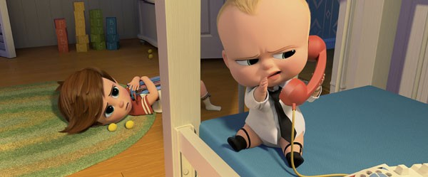 Baby Brother Blues The Boss Baby Movie Review School