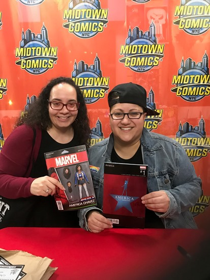 SLJ reviews manager Shelley Diaz with YA/comics author Gabby Rivera.