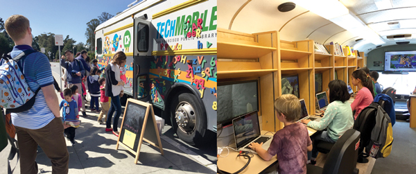 The San Francisco Public Library TechMobile