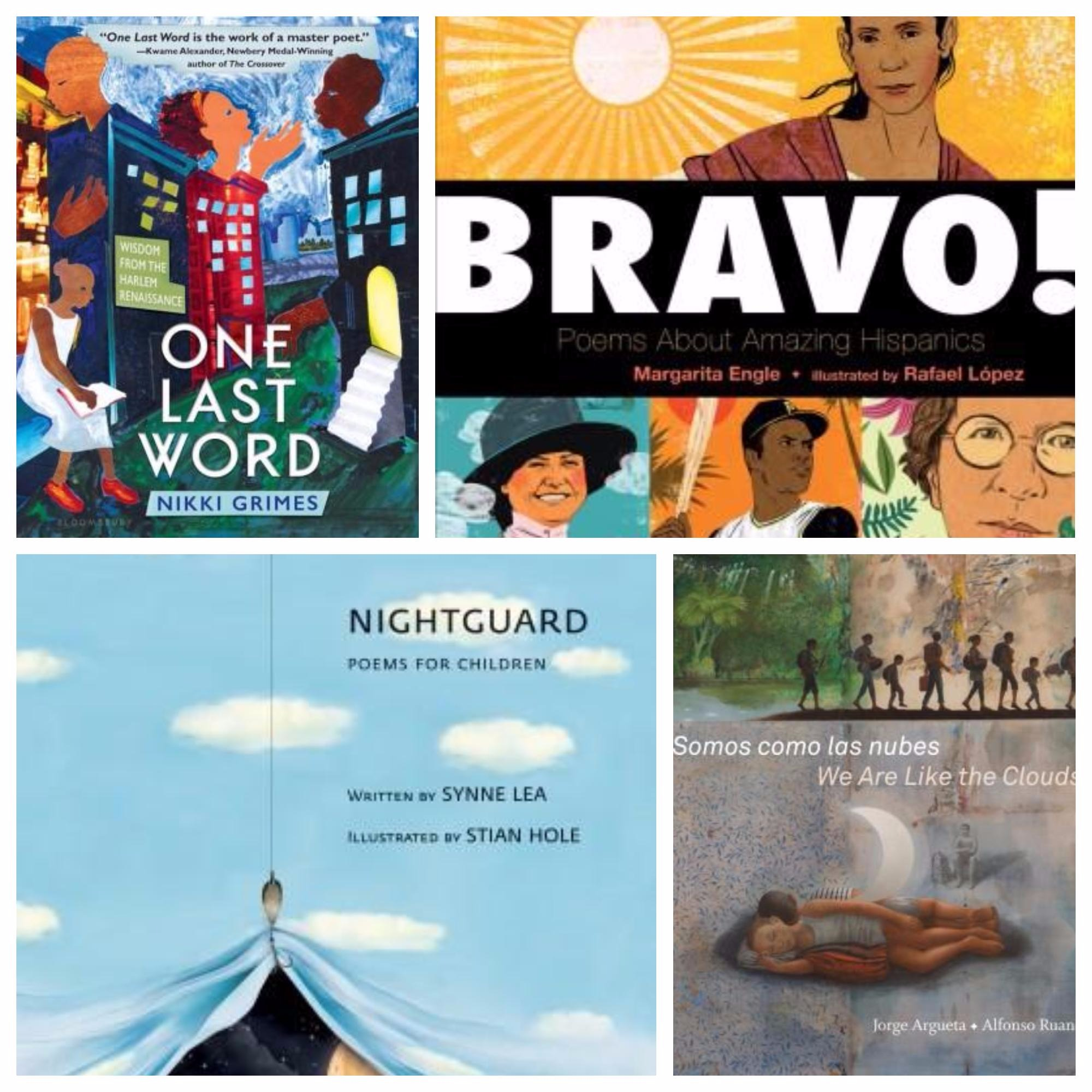 4 Poetry Titles to Share with Tweens