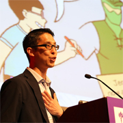 Gene Luen Yang, Ambassador and Nerd, Inspires | SLJ Day of Dialog 2017