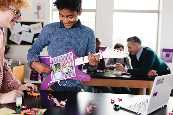 Coding Made Inventive: LittleBits' Code Kit | SLJ Review