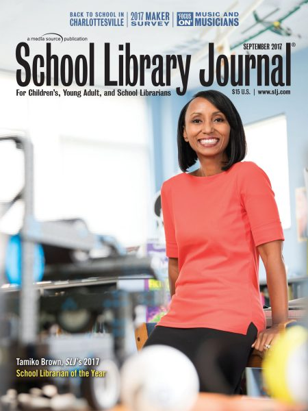 SLJ and Scholastic Announce the 2017 School Librarian of the Year