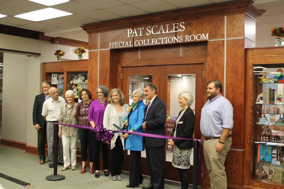 Pat Scales Special Collections Room Opens | Picture of the Week