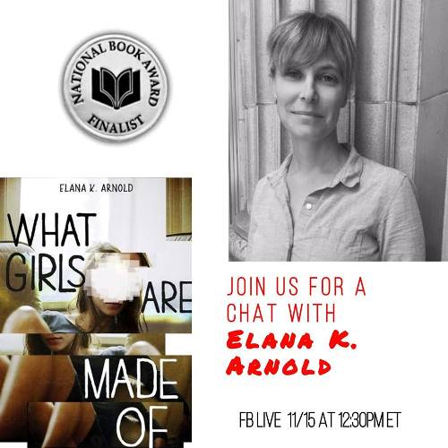 SLJ Chats with National Book Award Finalist Elana K. Arnold