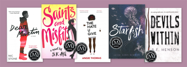SLJ's Reviews of YALSA's 2018 Morris Award Finalists