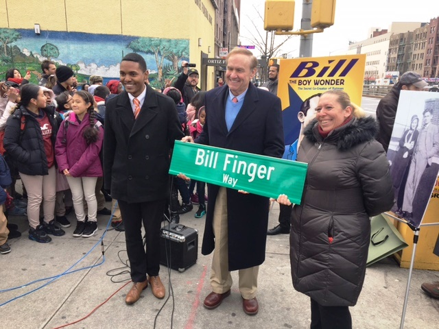 Holy Street Sign! Bronx Road Named for Batman Creator Bill Finger
