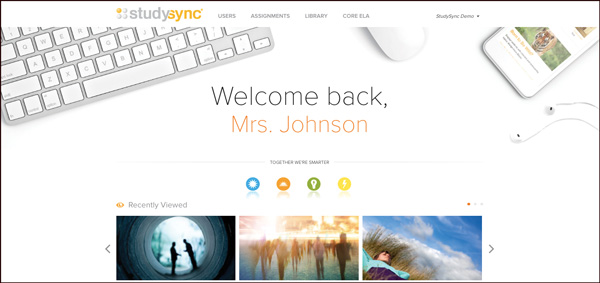 Customize Lesson Plans with StudySync