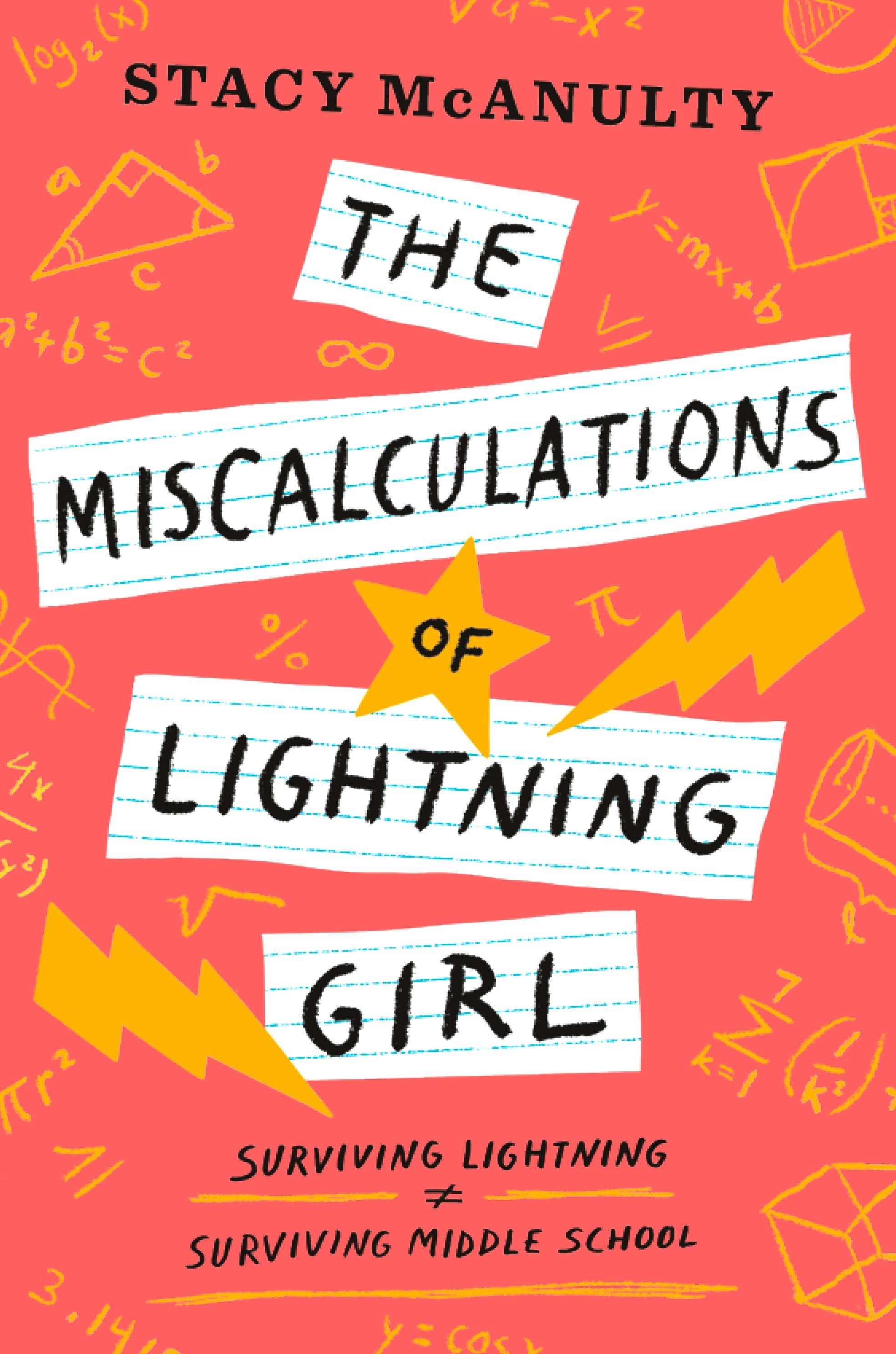 The Miscalculations of Lightning Girl by Stacy McAnulty | SLJ Review