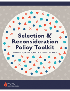 ALA Office of Intellectual Freedom Launches New Policy Toolkit