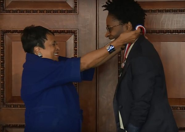 Video: Jacqueline Woodson Inaugurated as National Ambassador for Young People's Literature