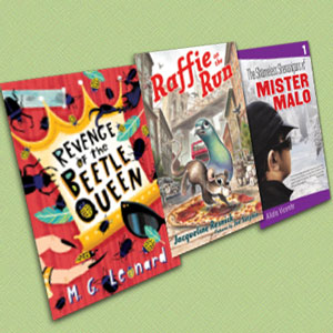 3 Quirky Middle Grade Titles on Bullying, Pizza Rats, and Beetles | March 2018 Xpress Reviews