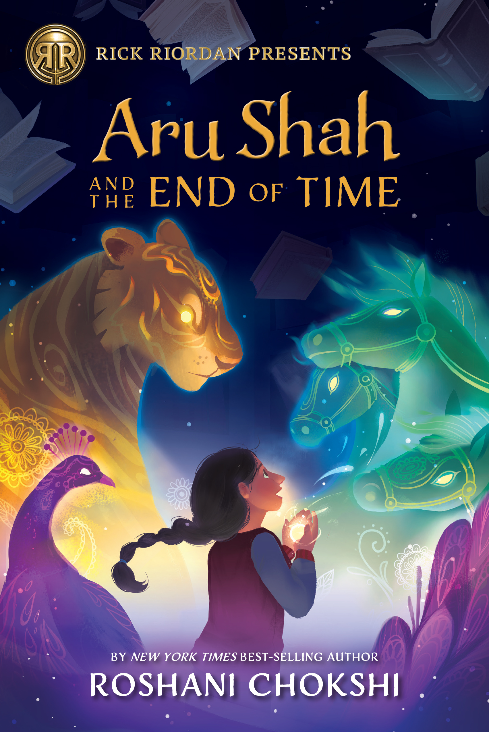 Aru Shah and the End of Time by Roshani Chokshi | SLJ Review