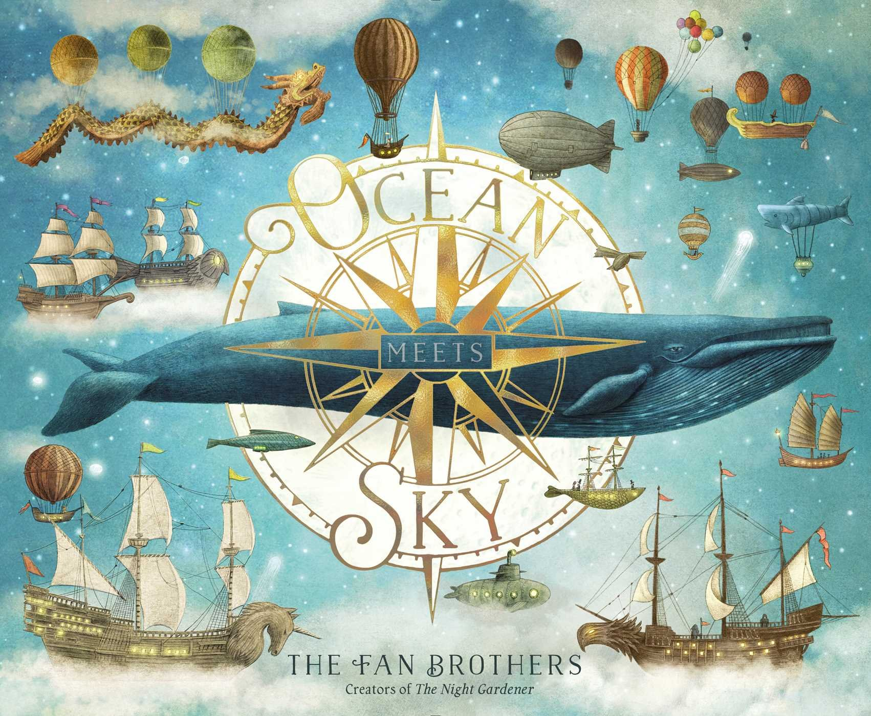 Ocean Meets Sky by Terry & Eric Fan | SLJ Review