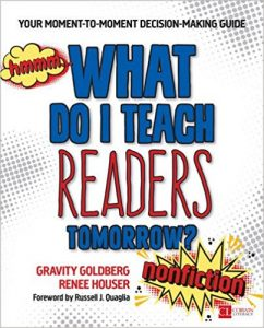 What Do I Teach Readers Tomorrow? | Professional Shelf