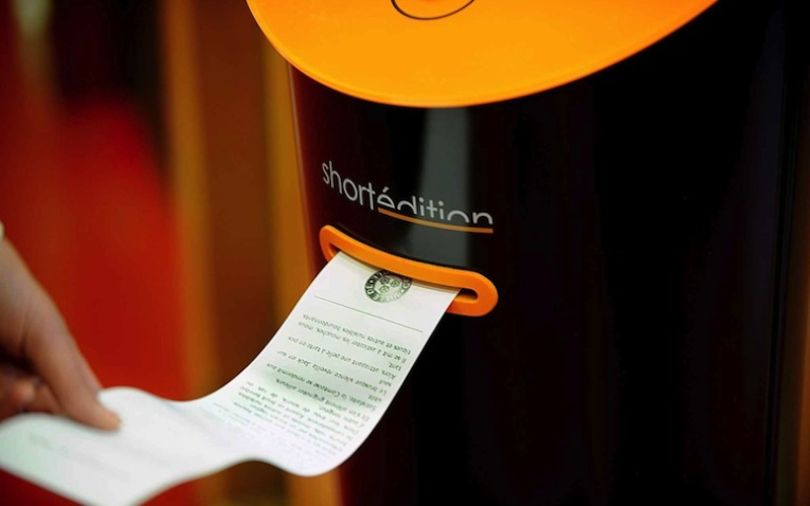 Short Story Dispensers Spread Power of Literature