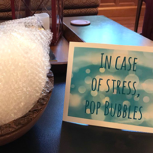 Hands-On Ways To De-Stress | Library Hacks