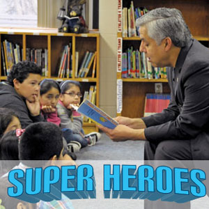 Super Heroes: These Superintendents Champion School Libraries