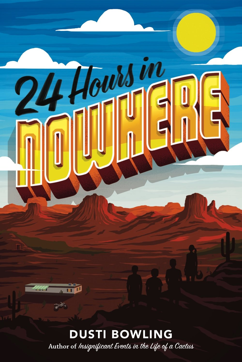 24 Hours in Nowhere by Dusti Bowling | SLJ Review