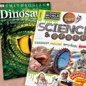 A Dino Guide, a Biblical Who's Who, and More Reference Titles