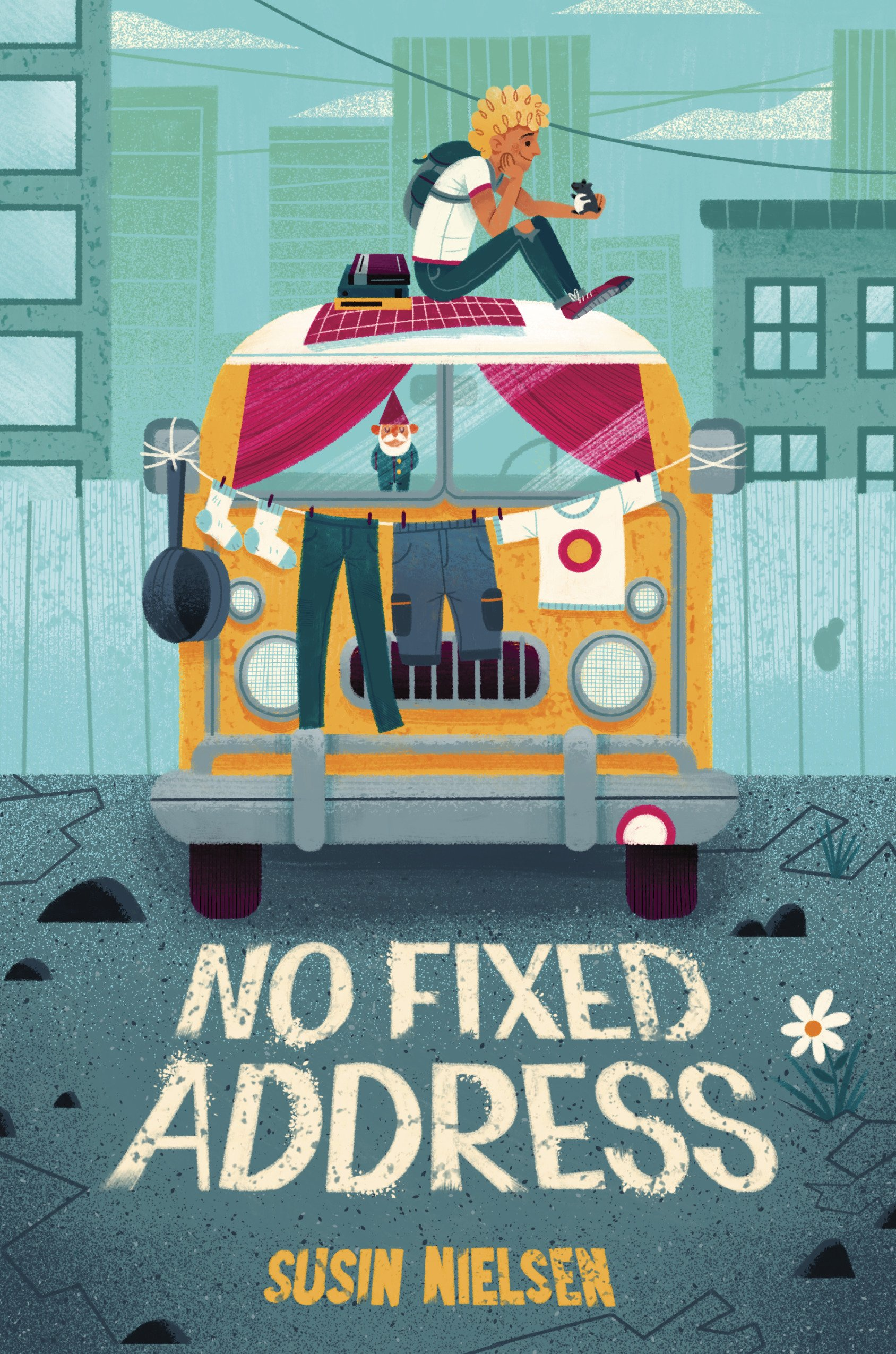 No Fixed Address by Susin Nielsen | SLJ Review