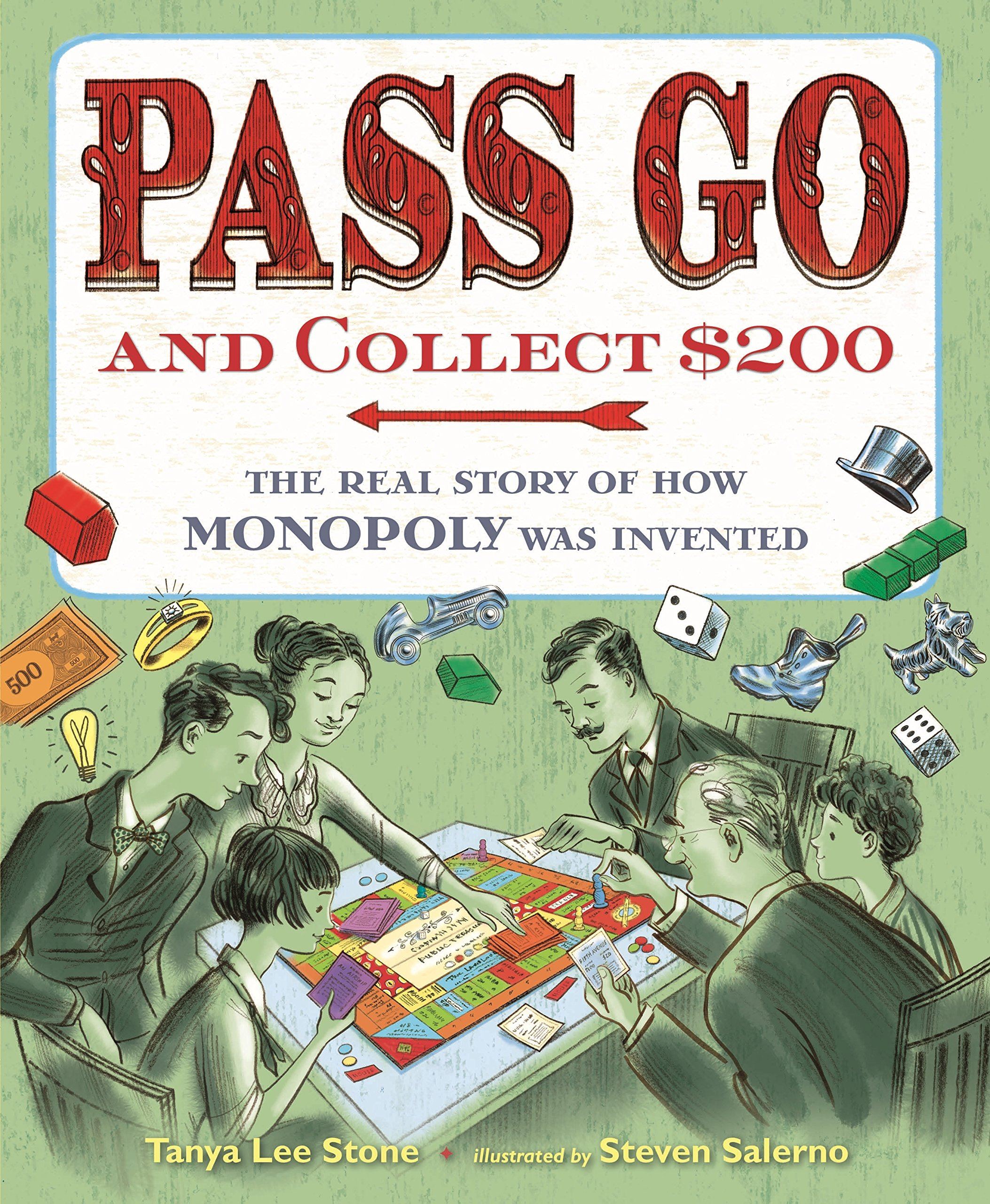 Pass Go and Collect $200 by Tanya Lee Stone | SLJ Review