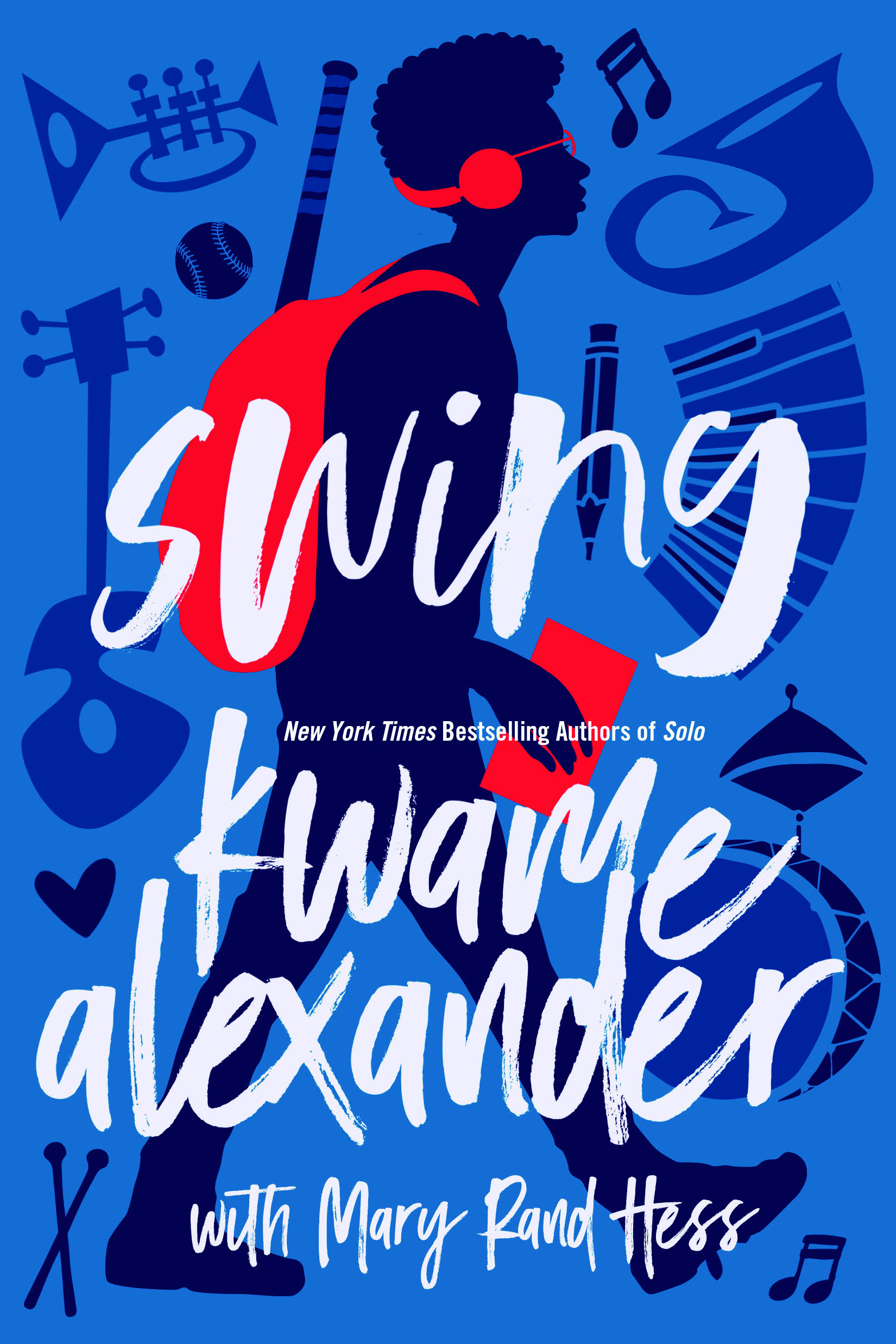 Exclusive Cover Reveal! SWING by Kwame Alexander and Mary Rand Hess