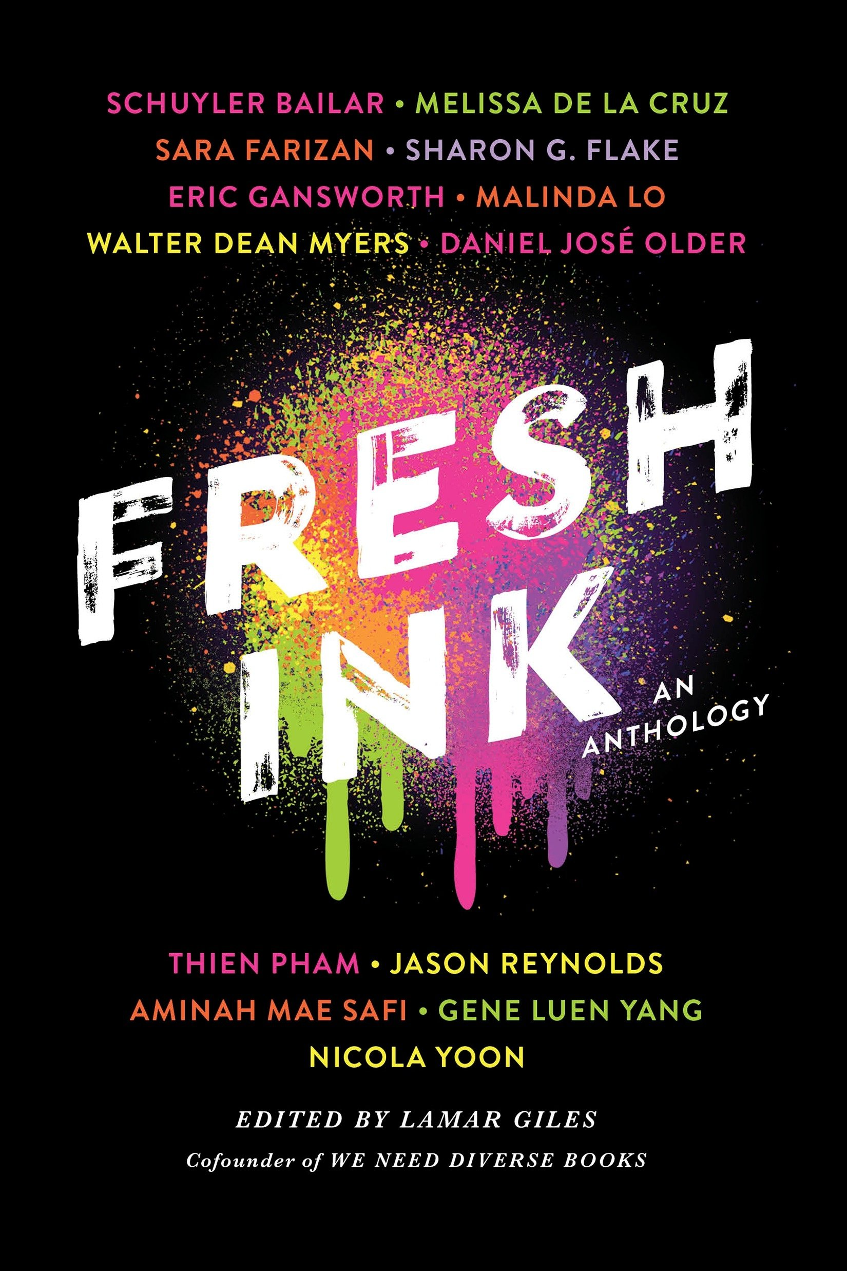 Fresh Ink: An Anthology by Lamar Giles | SLJ Review
