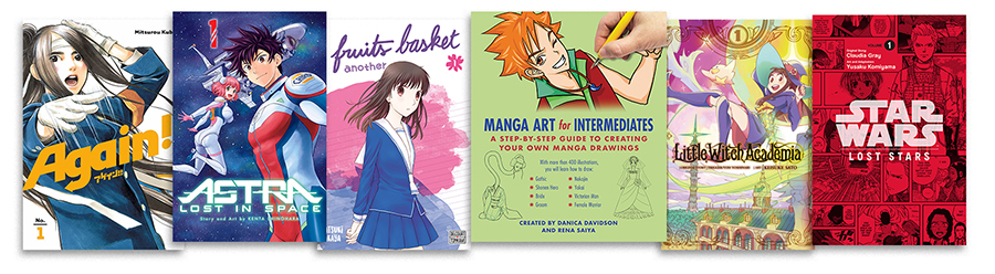 13 Manga Series To Share with Teens This Summer
