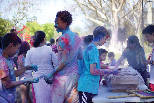 Teen Advisory Board Organizes Holi Event Celebrating Hindu Festival