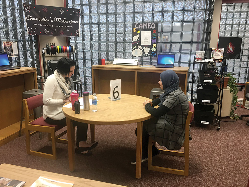 "A School Librarian's Mock Interview Program Preps Teens for ""Face Time"""