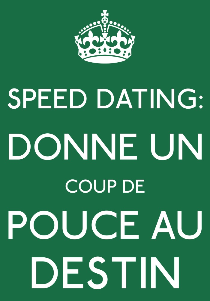 Speed dating celibataire