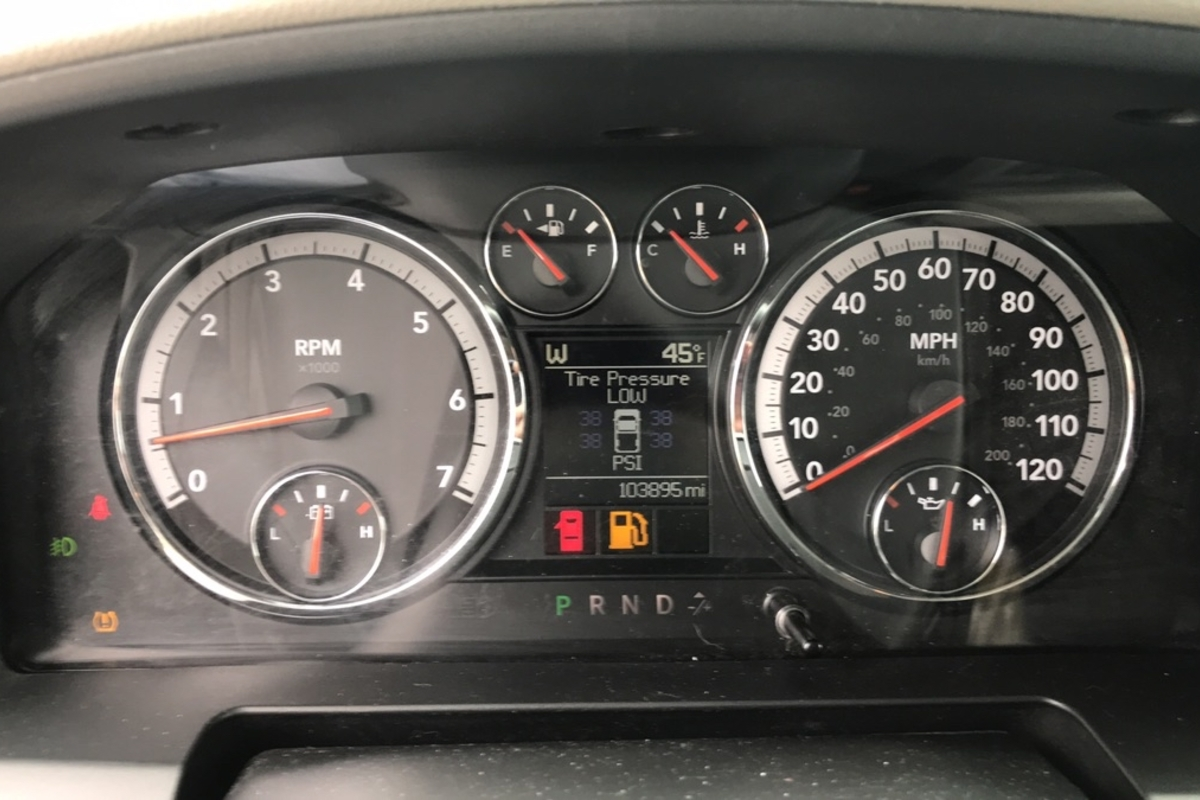 2012 Dodge Ram 1500 SLT Quad Cab 4WD